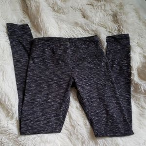 Balance Collection Gray Stripped Leggings